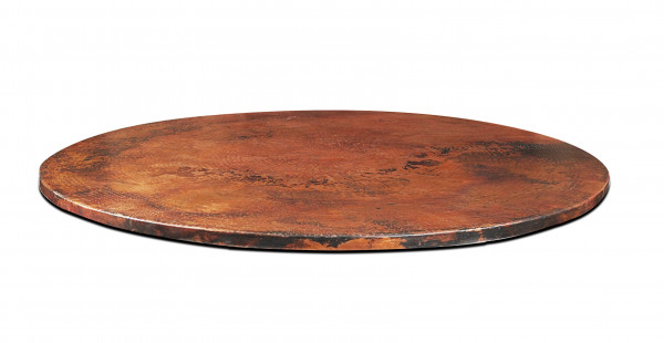 H1100-Hand Hammered Copper Round Top