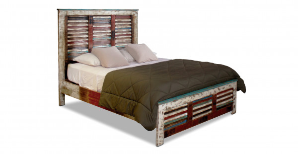 H4093-Bombay Shutters Bed