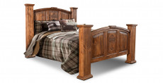 H4813-Bed-BRN